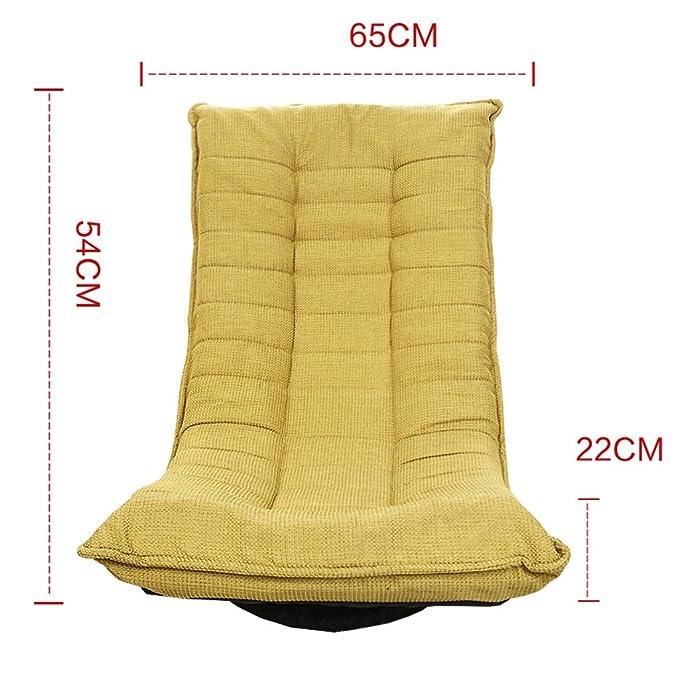 FFLRSF HJHY® Puf, Estilo japonés Individual Gire el sofá ...