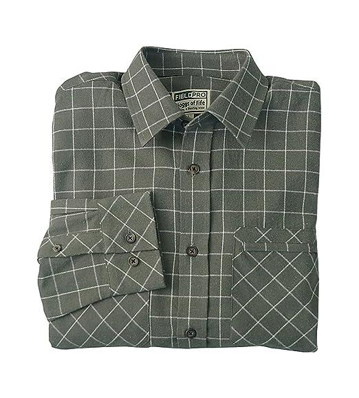 5359a9d2 Hoggs of Fife Hunting Shirt Marl Green/White (XXL): Amazon.co.uk: Clothing