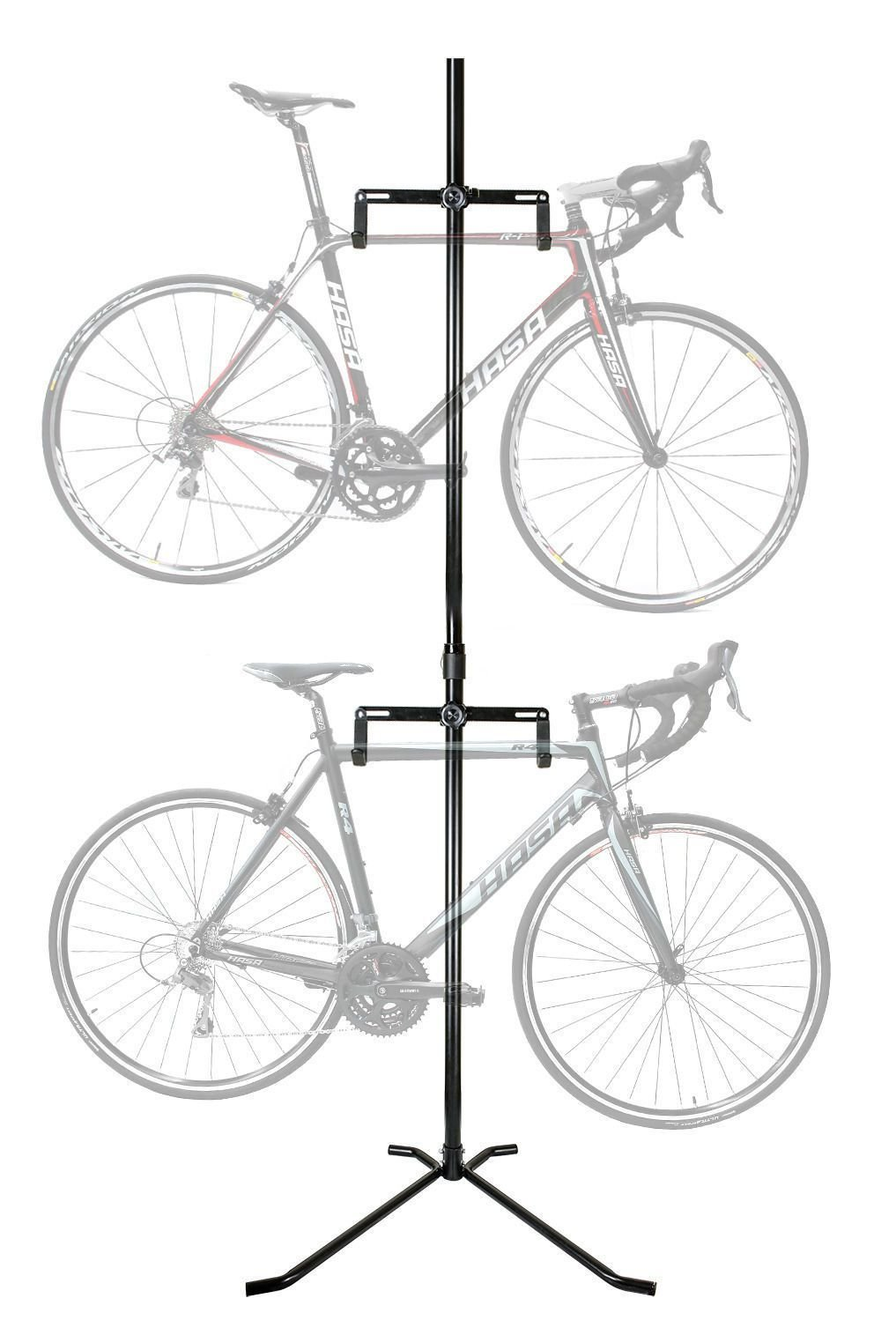 CyclingDeal 2 Bike Bicycle Floor Rack Stand