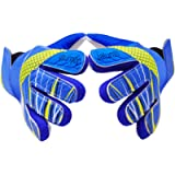 Goalkeeper Goalie Soccer Gloves - Kids & Youth Football Goal Keeper Gloves with Embossed Anti-Slip Latex Palm and Soft…
