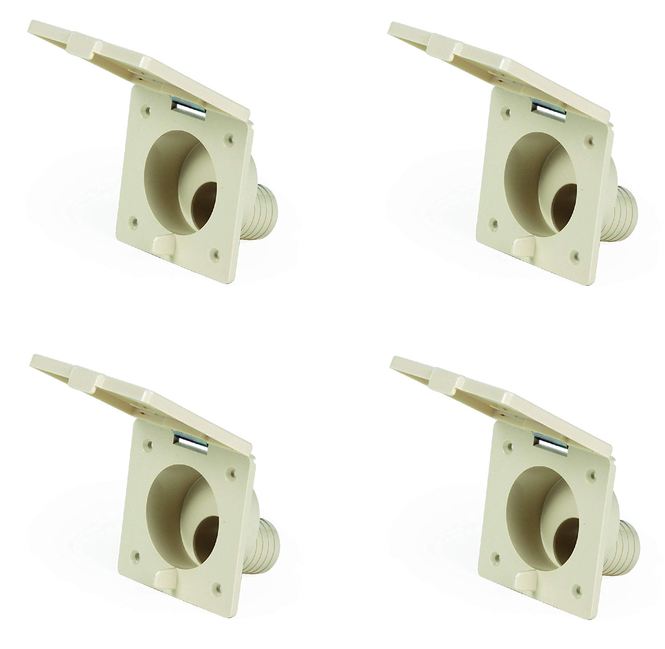 Camco 37102 Replacement Fresh Water Fill Spout (Beige) - Lead Free (4)