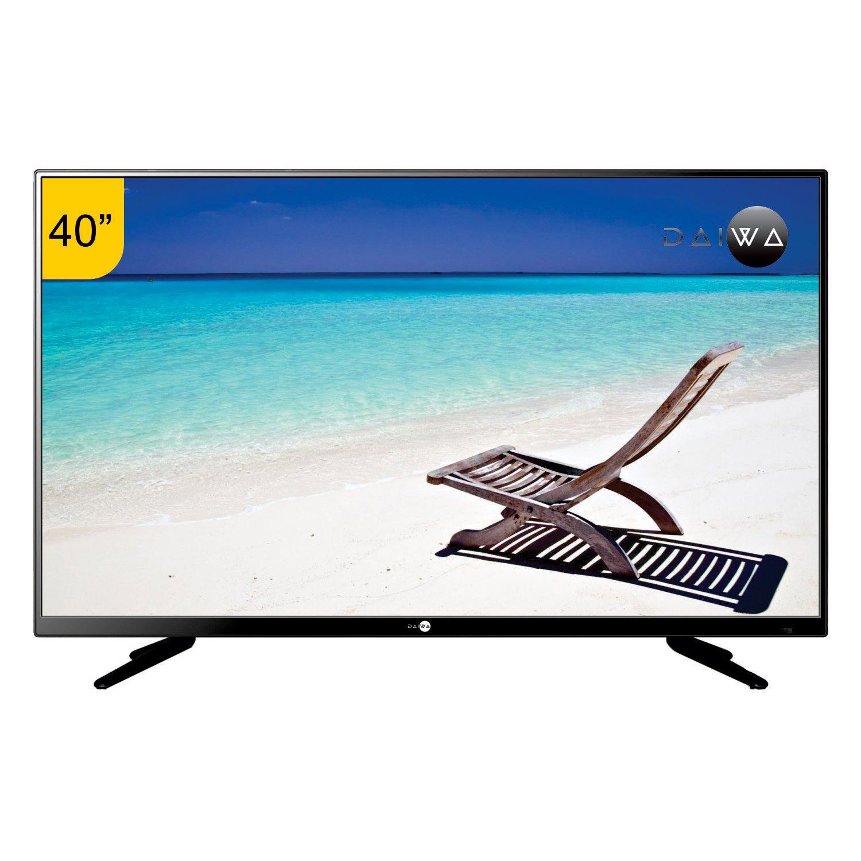 Top 10 40 inch LED TVs in India - Daiwa L42FVC84U Full HD LED TV (Black)