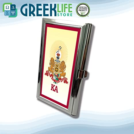 Amazon Kappa Alpha Order Business Card Holder Stainless Steel