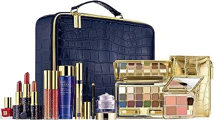 Estee Lauder - Colección de color de maquillador profesional, edición limitada, en un estuche compacto de viaje azul marino.: Amazon.es: Belleza