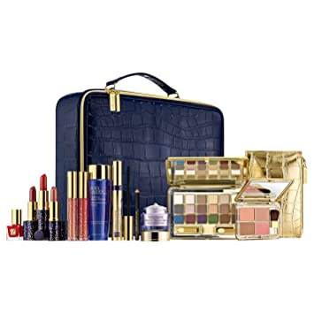 Estee Lauder LIMITED EDITION Makeup Artist Professional Color Collection in NAVY SlimCase Traveller: Amazon.co.uk: Beauty