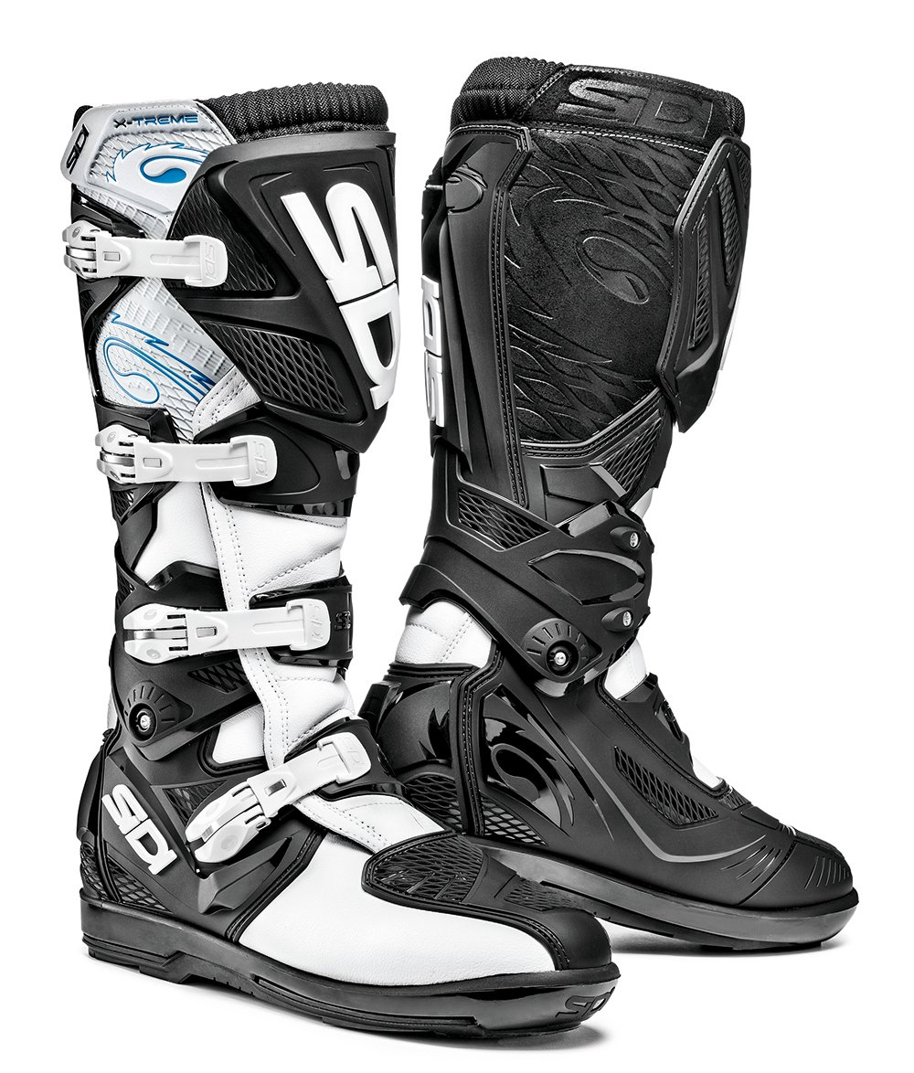 Sidi Motocross-Stiefel X-3 SRS Wei/ß//Schwarz