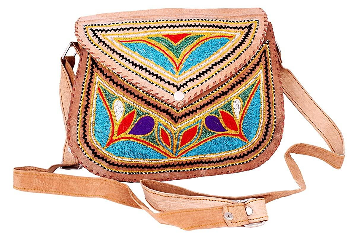 b061920ae653 Magnificent Handcrafted Ethnic Camel Leather Rich Kashmiri ...