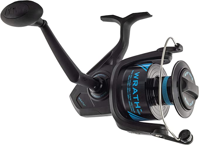 Penn Carrete Wrath Spinning Reel 8000: Amazon.es: Deportes y aire ...
