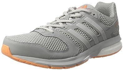 reputable site 0aeeb 9d1a2 adidas Damen Questar Laufschuhe, Grau (Mid Greylgh Solid Greyeasy Orange