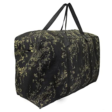 Large Travel Duffel Bag Tote Waterproof Cargo Bag Foldable Luggage Gym Gear  Bag 13dcd005d88