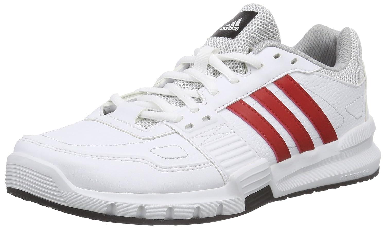Adidas Essential Star .2 - Zapatillas de Cross Training para Hombre 48 EU|Blanco / Rojo / Negro