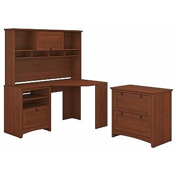 Amazon.com: Bush muebles buena vista computadora de esquina ...