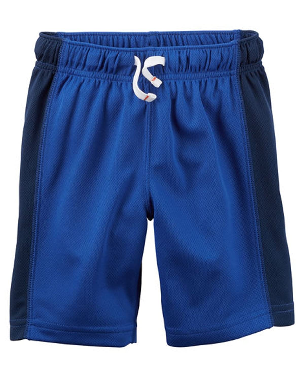 7, royal blue Carters Little Boys Lightweight Active Mesh Shorts