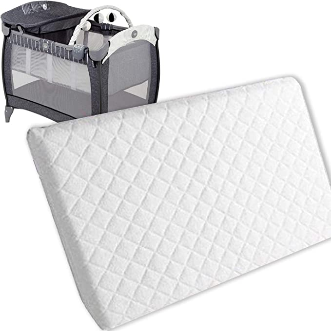 New Baby Travel Cot Foam/Mattress - Best Cot Mattress With A Washable Cover