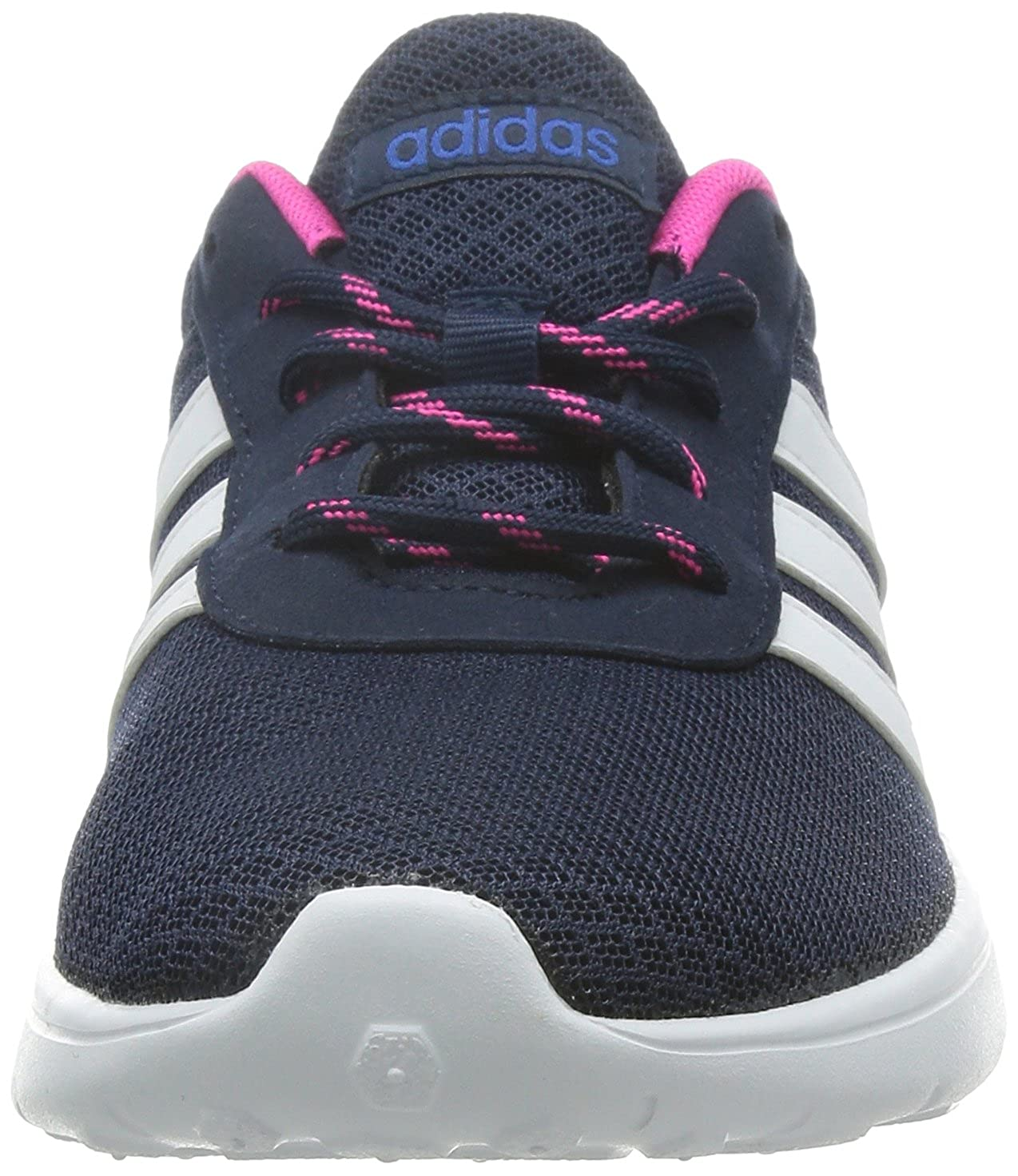 0204a8c04ea483 Adidas Lite Racer W F99376 Womens shoes Navy Pink White 8 B(M) US  Buy  Online at Low Prices in India - Amazon.in
