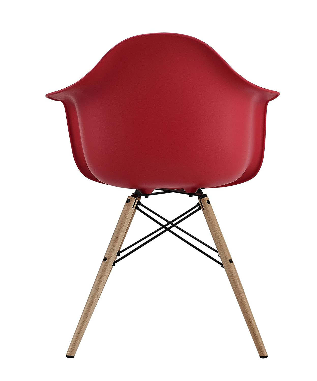 Dhp Mid Century Modern Eames Inspired Chair With Molded