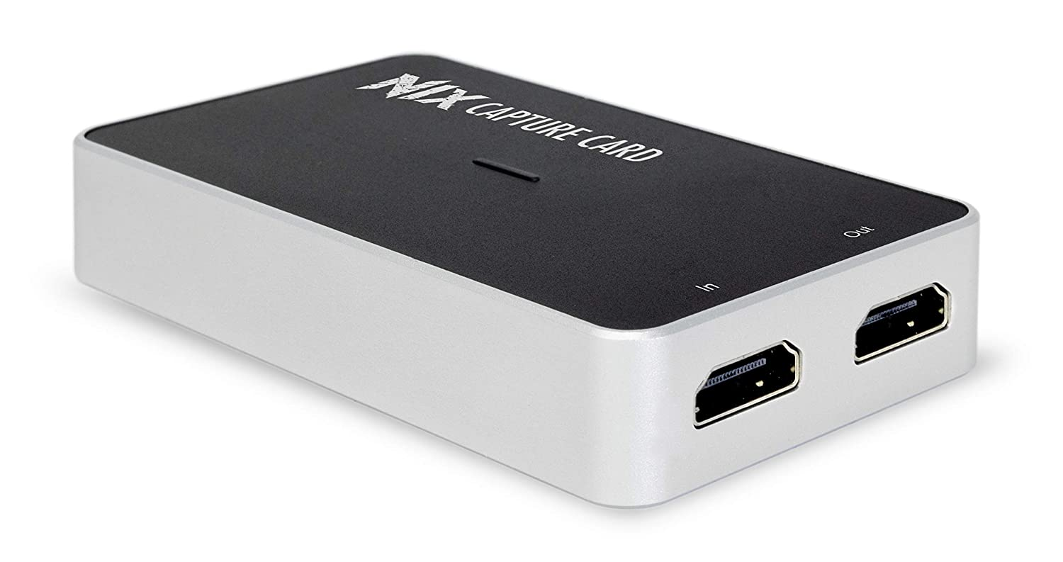 Plugable Performance NIX Video Game Capture Card 1080P 60FPS, USB C & USB  3 0 and HDMI Passthrough for Monitor - Compatible with Windows, Linux,