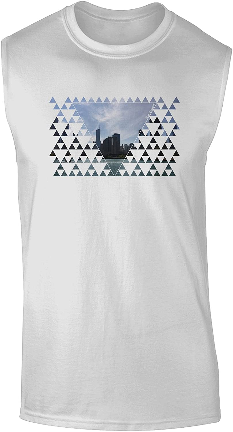 TooLoud Chicago Triangles Toddler T-Shirt