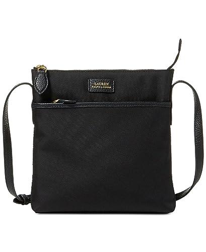 d59c664b4544 Lauren Ralph Lauren Chadwick Small Crossbody (Black)  Handbags ...