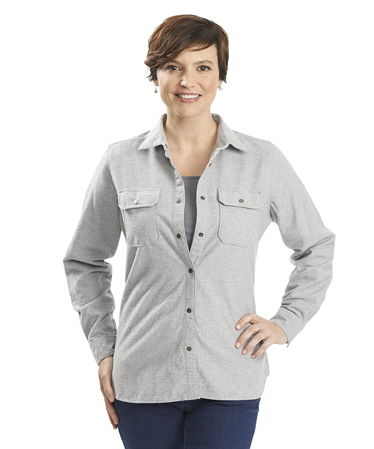 Woolrich Women's Heather Chamois Regular Fit Shirt