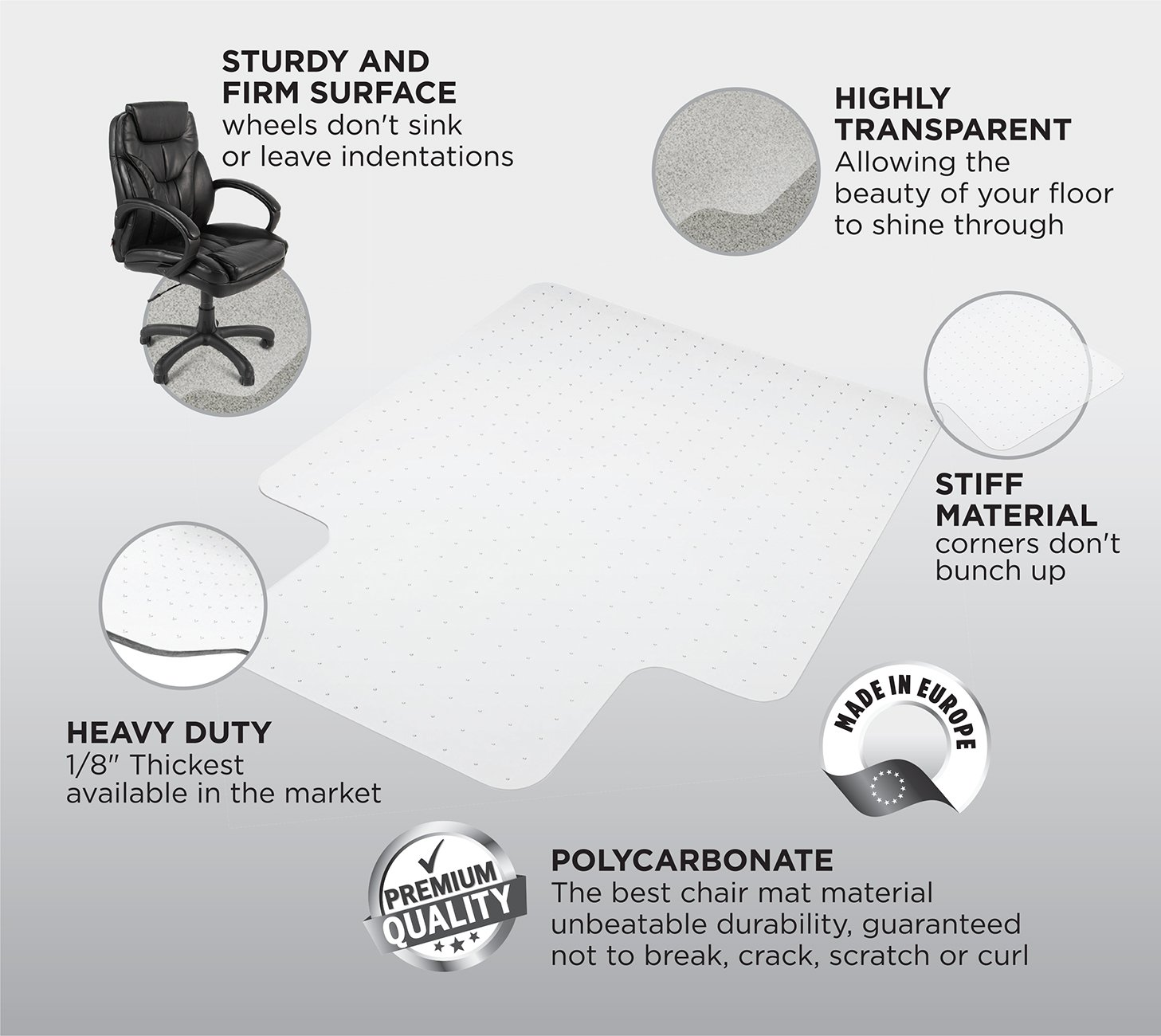 How to Buy the Right Office Chair Mat Best Choices
