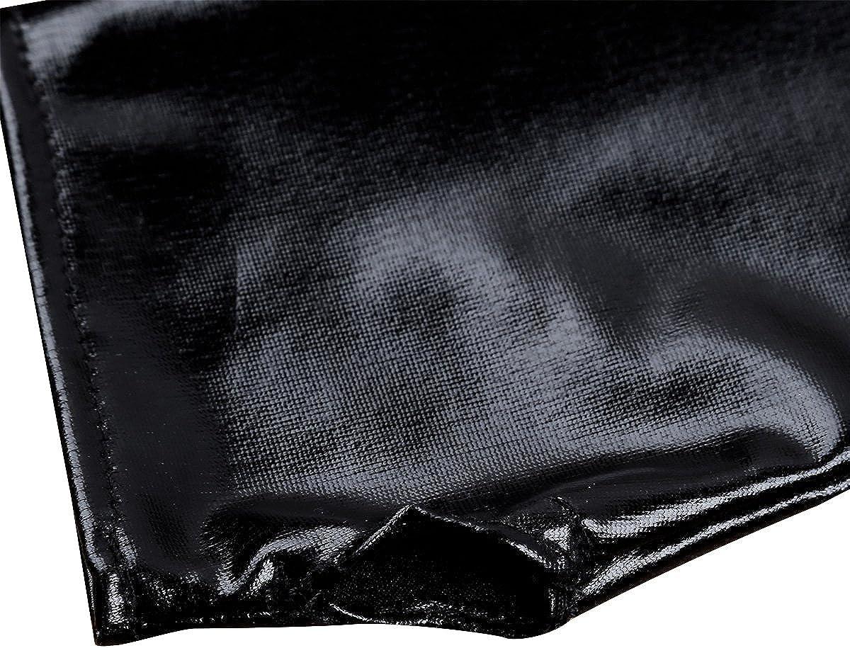 Freebily 1 Paire Filles Femmes Gants De Mari/ée Mariage Mitaines Coude Gants Demi Long Gants en Cuir Verni Moufles Gants De Soir/ée Partie Gants Dop/éra Bal Mini Gants