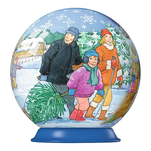 Christmas Collection 2012 Puzzle Ball - Family