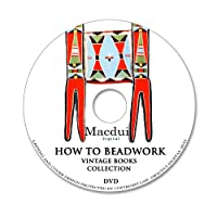How to Beadwork – Vintage E-books 6 PDF on 1 Data DVD-Rom Bead Stringing, Crow Indian beadwork