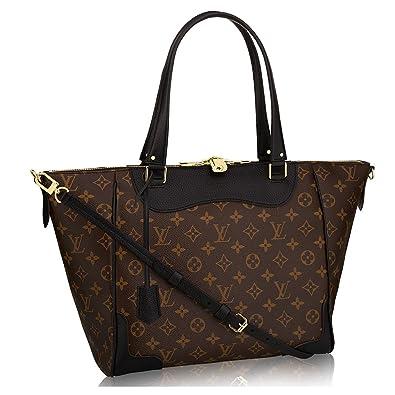 1b41034b85f7 Authentic Louis Vuitton Monogram Canvas Estrela Handbag Noir Article   M51192 Made in France  Handbags  Amazon.com