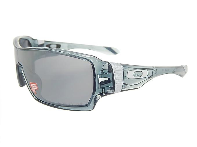 3dd7c675f3 Image Unavailable. Image not available for. Colour  Oakley Offshoot  Polarized 9190-05 Crystal Black Black Iridium Polarized Sunglasses