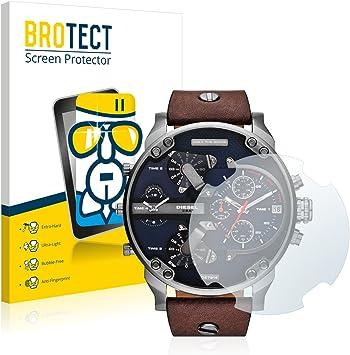BROTECT Protector Pantalla Cristal Compatible con Diesel DZ7314 Mr ...