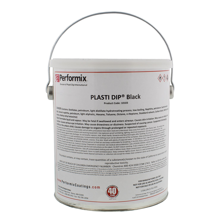Plasti Dip Multi-Purpose Rubber Coating - One Gallon (128oz) - BLACK by Plasti Dip (Image #2)