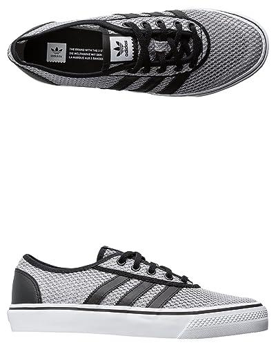 online retailer 93ec6 c49fa adidas Skateboarding Mens Adi-Ease Clima BlackWhiteBlack 14 D(M