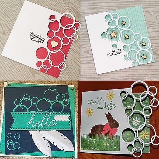 lace Design Metal Cutting Dies For DIY Scrapbooking Card Paper Album ZJHN