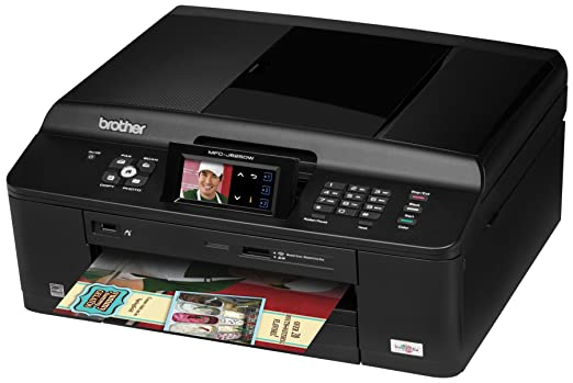 Amazoncom Brother Printer Mfcj625dw Wireless Color Photo Printer