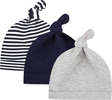 Newborn Baby Infant Toddler Comfy Hospital Cap Warm Beanie Hat NEW All NATURAL