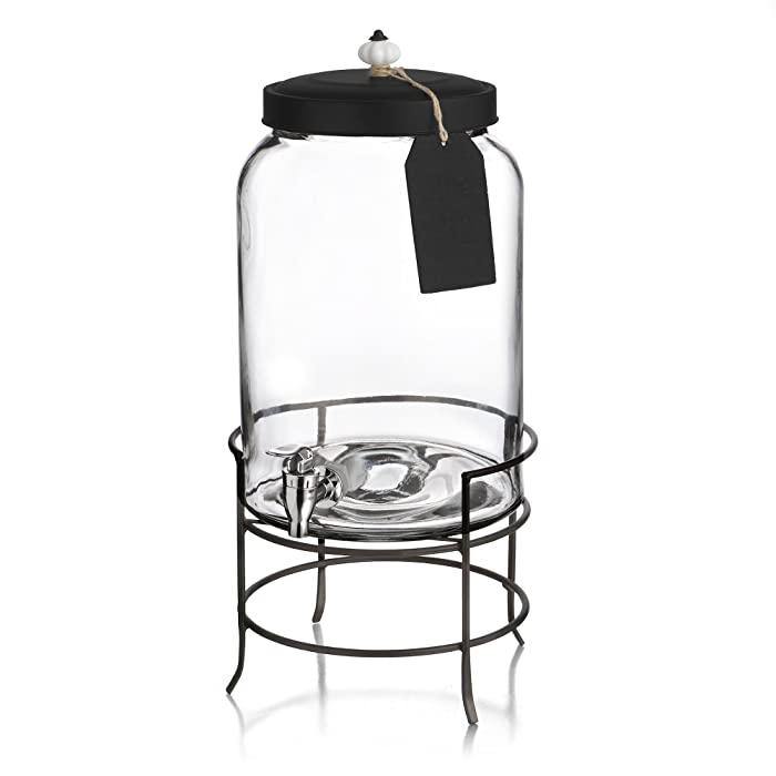 The Best Beverage Dispenser 3 Gallon Glass