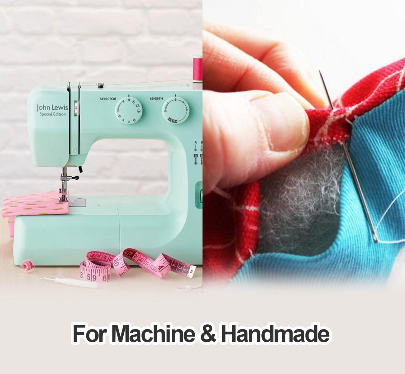 Hilos de coser de poliéster Cubewit 4 PCS hilo de coser ...