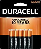 Duracell - CopperTop AA + AAA Alkaline Batteries - long lasting, all-purpose Double A & Triple A battery - 10 Count