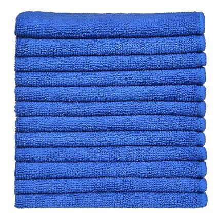 SINLAND Paño de microfibra para limpieza,toallas de cocina,paños de cocina (Azul