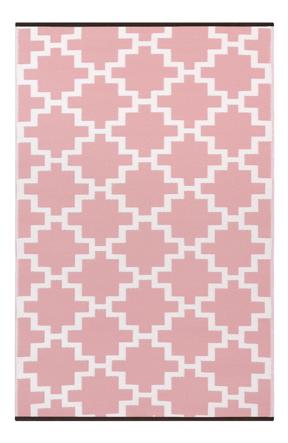 Green Decor Lightweight Indoor/Outdoor Reversible Plastic Rug Solitude, Peach Beige/Cream, 150 x 240 cm (5ft x 8ft)