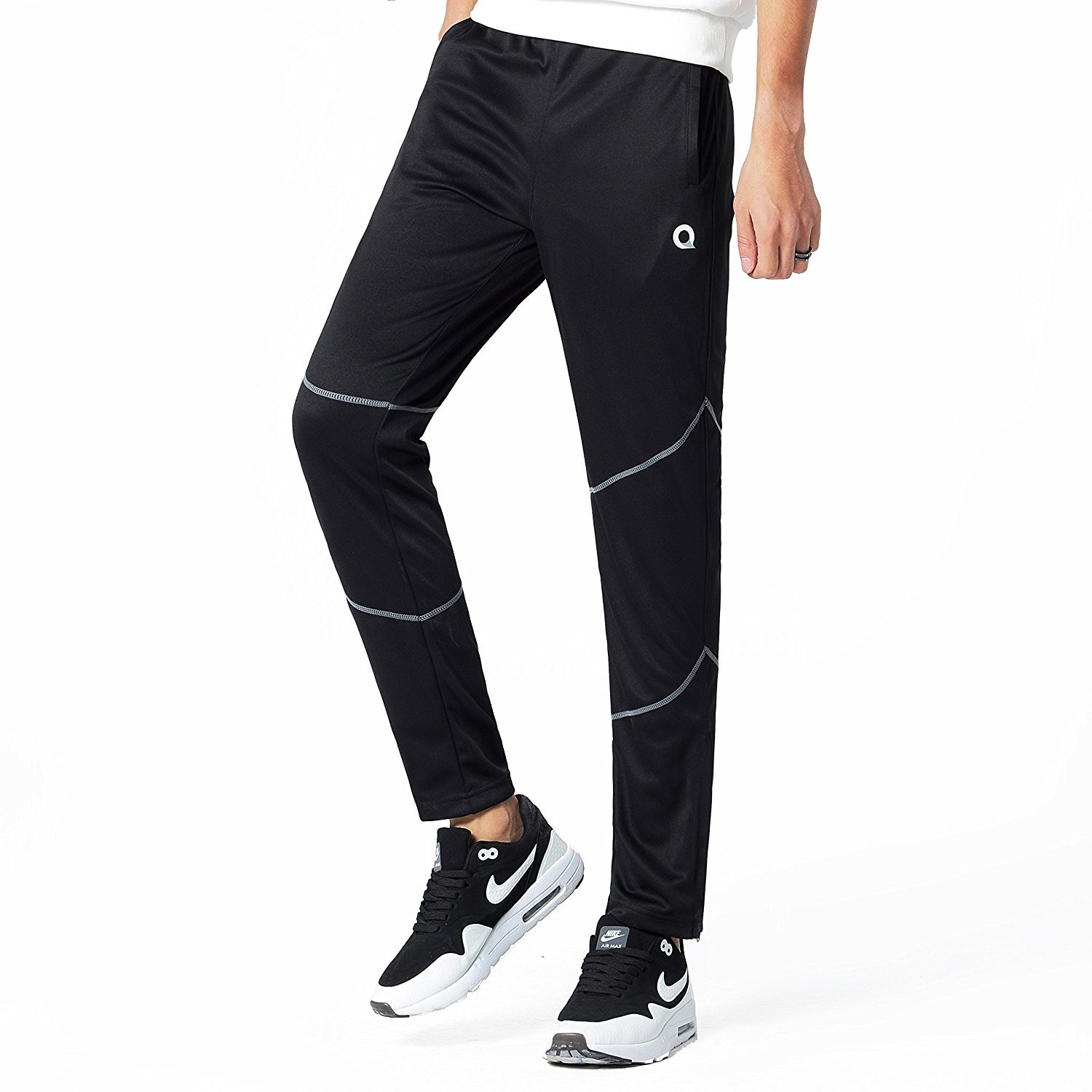 Ogeenier Men's Performance Joggers Pants Gym Workout Pants Fitness Running Trousers Sweatpant
