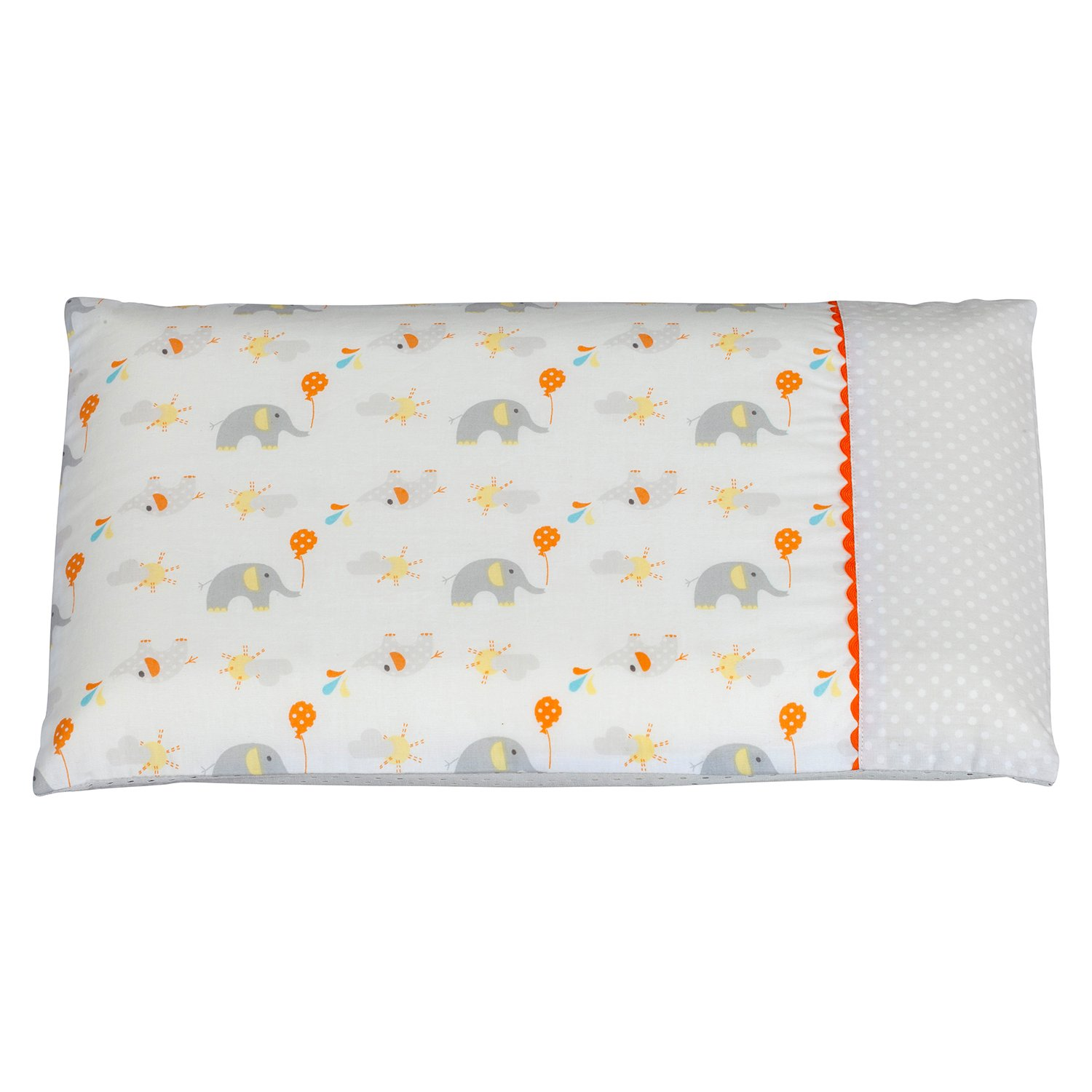 ClevaMama Replacement Pram Pillow Case (Elephant) 7816