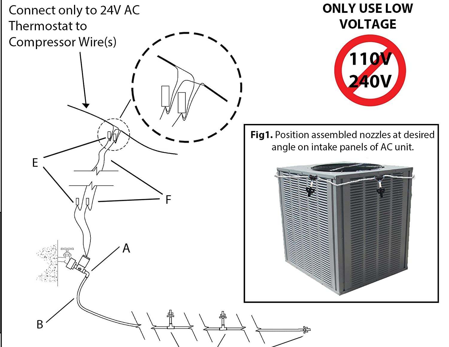 Smart Ac Automatic Air Conditioner Cooler System Evaporative Cooling Home A C Compressor Switch Wiring Kit