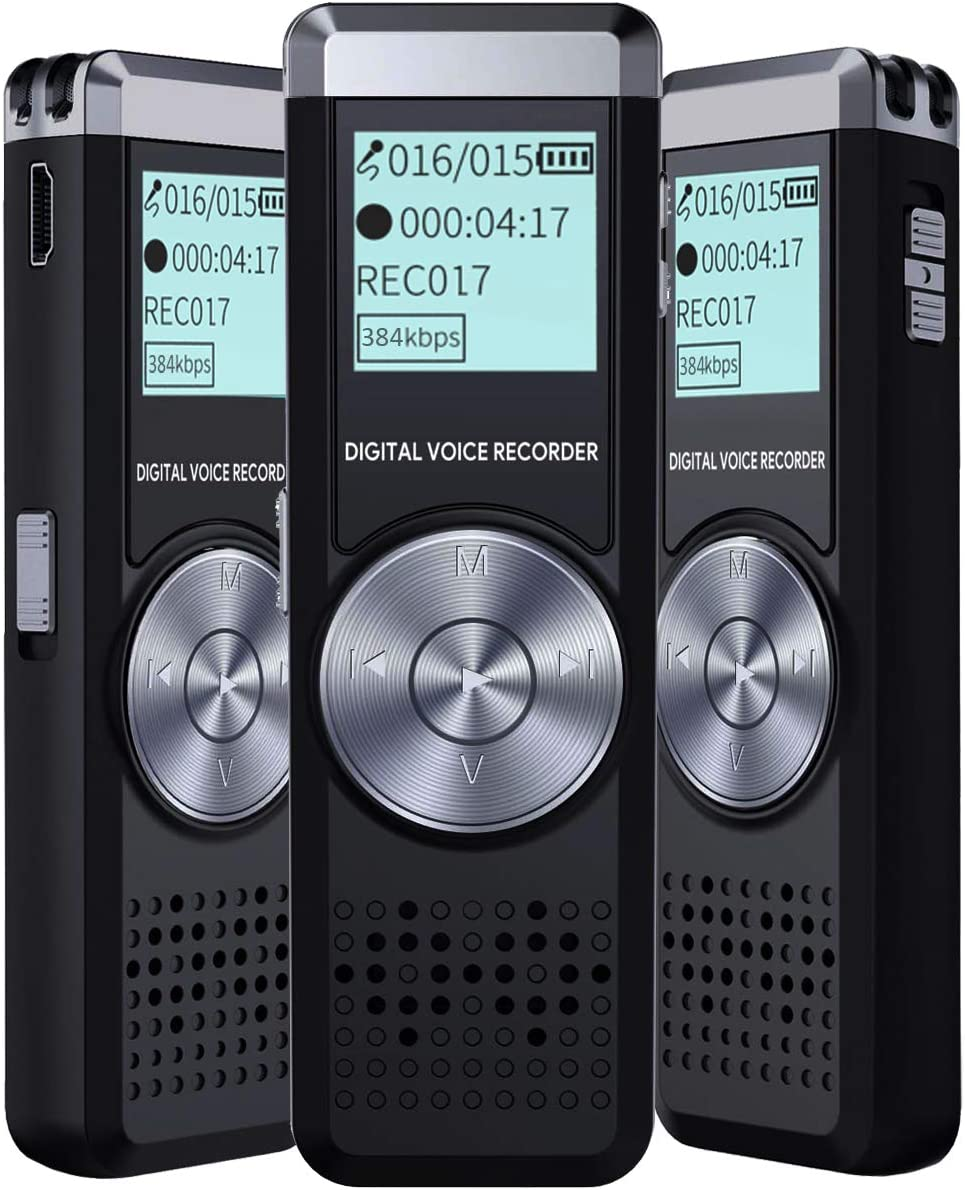 Portable Audio & Video Voice Recorder for lectures Portable ...