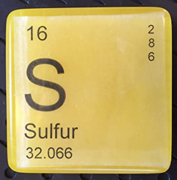 Amazon Its Elementary Periodic Table Soap Sulfur Beauty