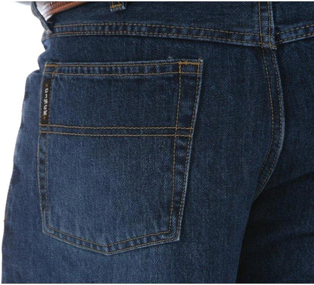 Black Label Dark Stone Wash Jeans (34W x 40L) MB90633002