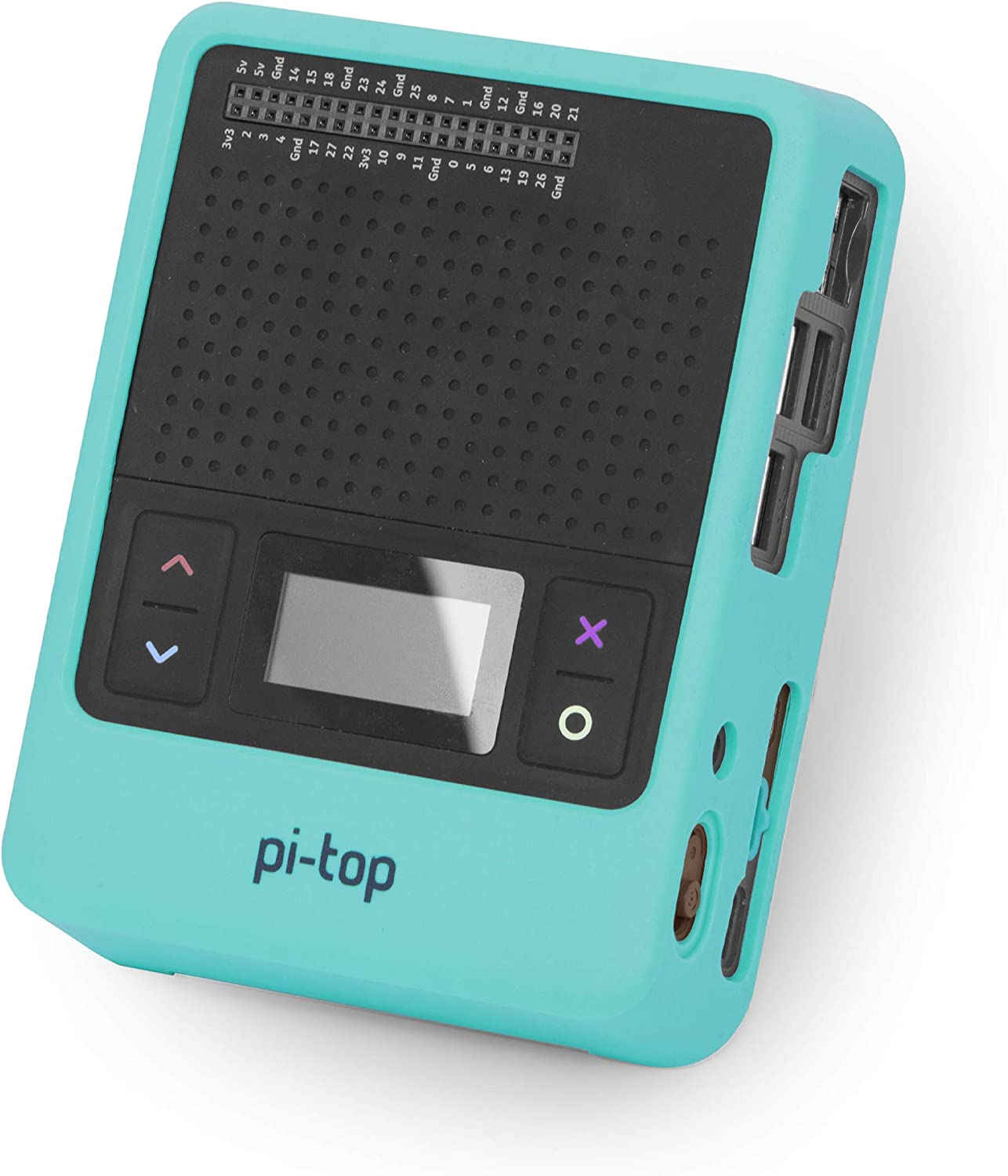 pi-top [4] Protective Case - Green Bump-Resistant Anti-Scratch Case for pi-top [4] Computer