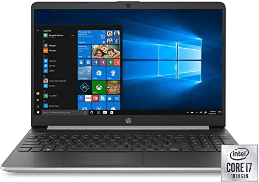 Amazon Com Hp 15 6 Full Hd Laptop Intel Core I7 1065g7 Processor 8gb Memory 256gb Ssd 2 Year Warranty Care Pack With Accidental Damage Protection Windows 10 Home Computers Accessories