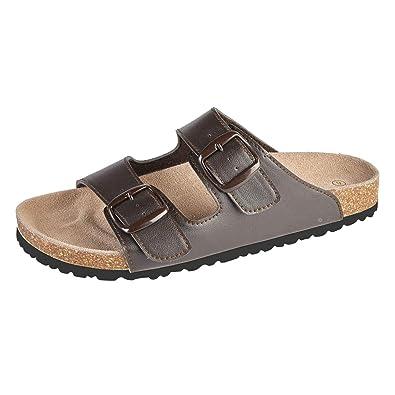 93c39c908cc5 Mens Boys Slipper Shoes Buckle Sandals Slip on Mules Size 7 8 9 10 11 12   Amazon.co.uk  Shoes   Bags